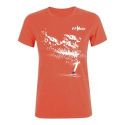 T-shirt Femme CORAIL Federation Française de Voile Nuages
