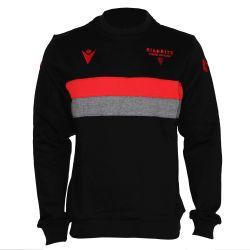 Sweatshirt col rond Officiel Voyage KID Biarritz Olympique NOIR GRIS ROUGE G