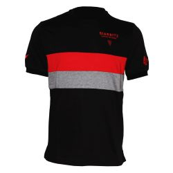 T-shirt Officiel Voyage ADULTE Biarritz Olympique NOIR GRIS ROUGE Gavekal