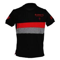 T-shirt Officiel Voyage KID Biarritz Olympique NOIR GRIS ROUGE Gavekal