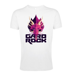 T-shirt blanc affiche Garorock 2018 - 22ème festival