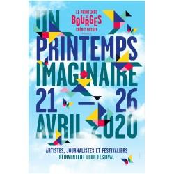 Affiche Printemps Imaginaire 2020
