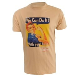 T-shirt MUD DAY Sable We Can Do It