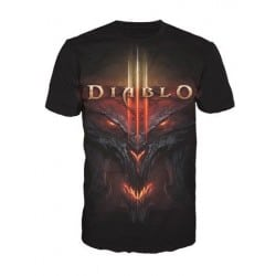 T-shirt Diablo - All Over face