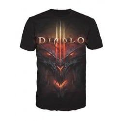 T-shirt Diablo - All Over face