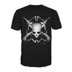 T-shirt Halo Skull