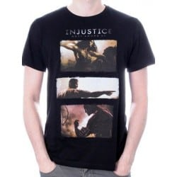 T-shirt INJUSTICE art