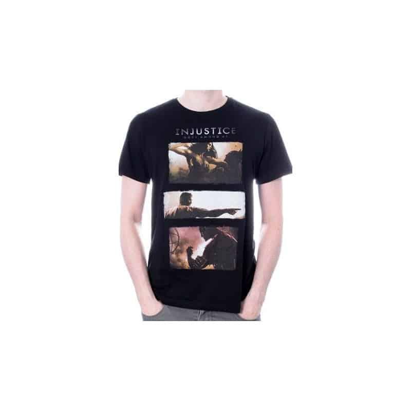 T-shirt INJUSTICE art