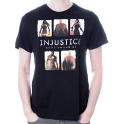 T-shirt INJUSTICE card