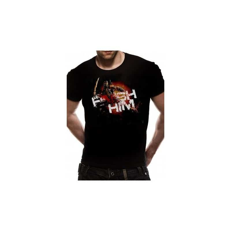 T-shirt Mortal Kombat Scorpion finish