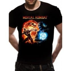 T-shirt Mortal Kombat Cover