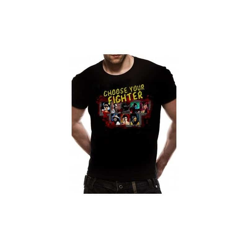 T-shirt Mortal Kombat Choose your fighter