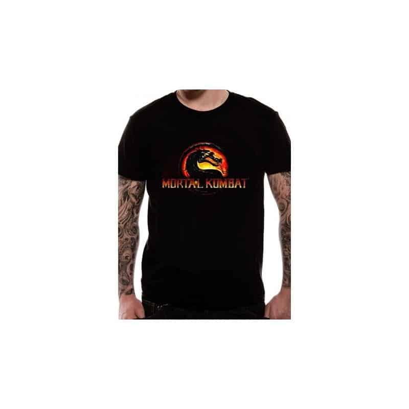 T-shirt Mortal Kombat - LOGO