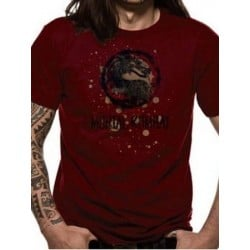 T-shirt MORTAL KOMBAT - Eroded logo