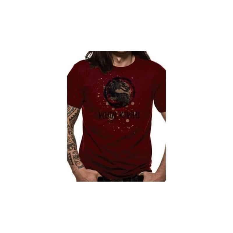 T-shirt MORTAL KOMBAT - Eroded logo