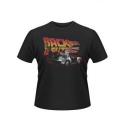 T-shirt Back to the future - Delorean