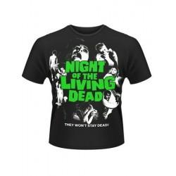 T-shirt femme La nuit des morts vivants