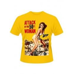 T-shirt L'Attaque de la femme de 50 pieds