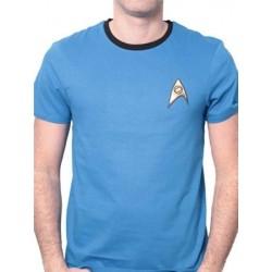 T-shirt STAR TREK UNIFORM bleu