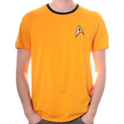 T-shirt STAR TREK UNIFORM jaune