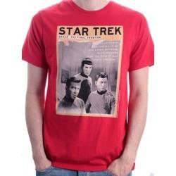 T-shirt STAR TREK STAR TREK SPACE : THE FINAL FRONTIER