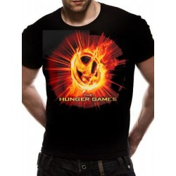 T-shirt THE HUNGER GAMES - Fire Mocking Jay