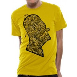 T-shirt The Simpsons  Homer Grafitti Head