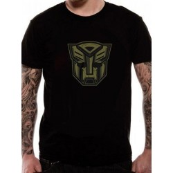 T-shirt TRANSFORMERS - ABOT SHIELD GOLD