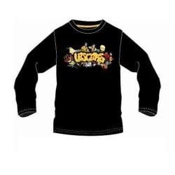 T-shirt enfant noir Lascars
