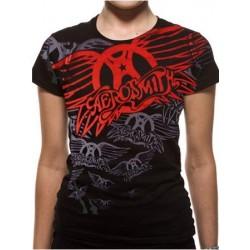 T-shirt femme Aerosmith repeat
