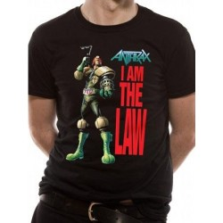 T-shirt ANTHRAX - I am the law