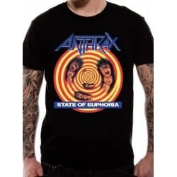 T-shirt ANTHRAX - State of Euphoria