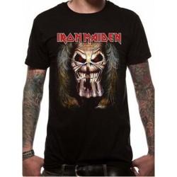 T-shirt Iron Maiden - EDDIE CANDLE FINGER