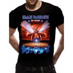T-shirt Iron Maiden EN VIVO!