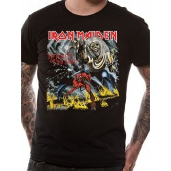 T-shirt Iron Maiden number-of-the-beast