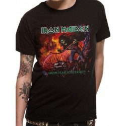 T-shirt Iron Maiden from-fear-to-eternity-album