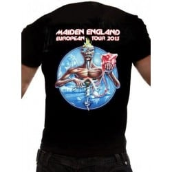 T-shirt Iron Maiden European Tour 2013