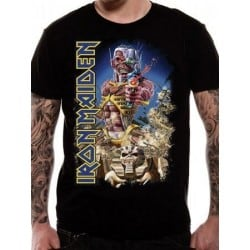 T-shirt Iron Maiden Somwhere back in time jumbo
