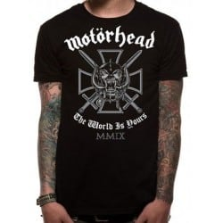 T-shirt MOTORHEAD iron cross