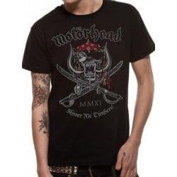T-shirt MOTORHEAD shiver me timbers