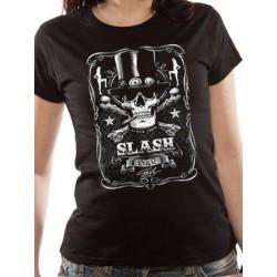 T-shirt Femme SLASH - LABEL