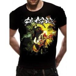 T-shirt SLASH - Flames