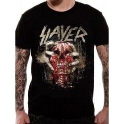 T-shirt SLAYER Skull Clench