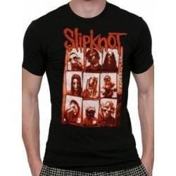 T-shirt SLIPKNOT - Sepia faces