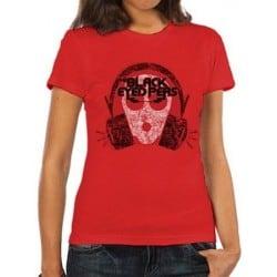 T-shirt femme BLACK EYED PEAS Out of mind
