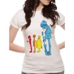 T-shirt femme GORILLAZ Noodle Band