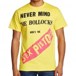 T-shirt SEX PISTOLS  -  NEVER MIND THE BOLLOCKS