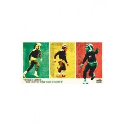 Stickers Bob Marley football