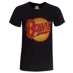 T-shirt David Bowie Diamong Dogs vintage logo