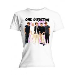 T-shirt femme ONE DIRECTION  Flowers